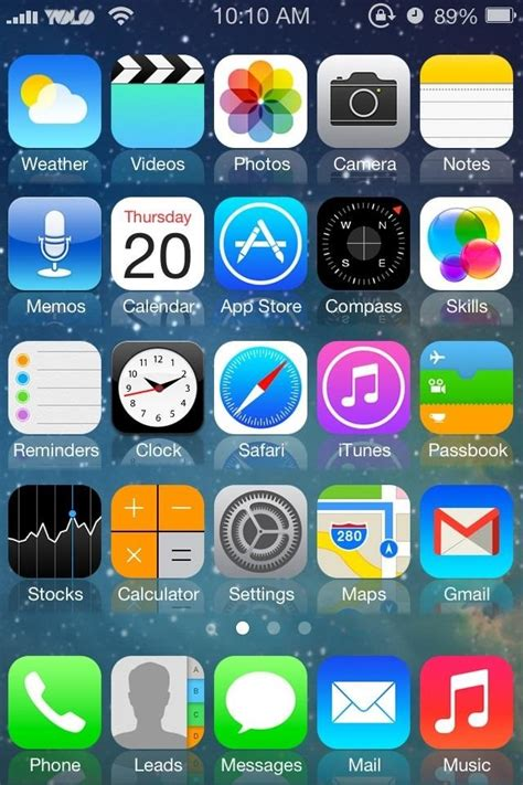 themes for iphone 5 ios 7 how to mimic the new ios 7 look in ios 6 on your