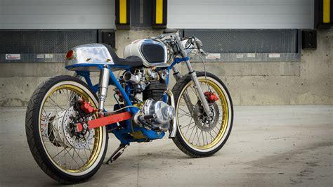 honda cb 450 honda cb450 cafe racer shinobi bikebound