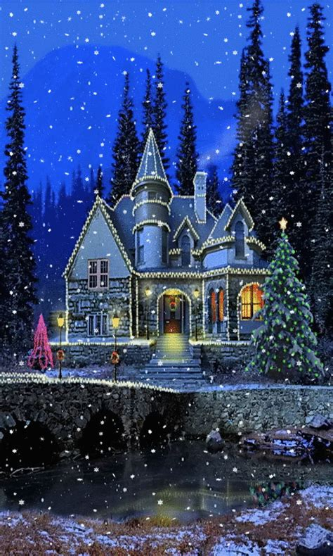 animated christmas trees with snow wallpapers merryxmas2016 photography best of snow gif winter snow and snow