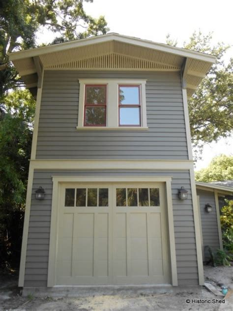 2 car garage with apartment two story one car garage apartment historic shed