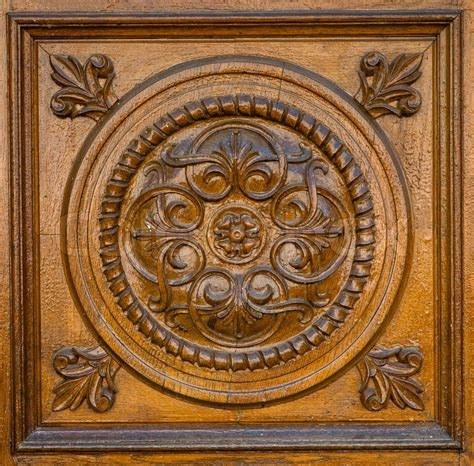 pattern of wood frame carved carved wooden pattern stock photo colourbox