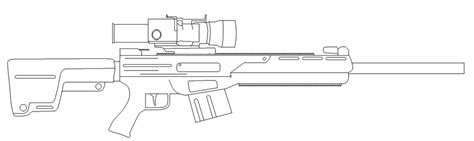 sniper gun coloring page coloring pages sniper