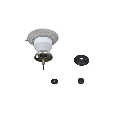 led ceiling fan light kit air cool carrolton ii 52 in led oil rubbed bronze ceiling