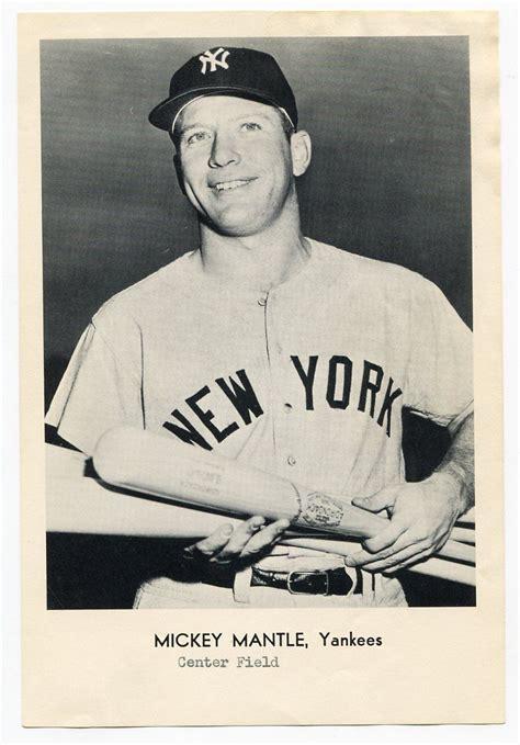 Premium Mickey Baseball lot detail mickey mantle 1960 s photo premium