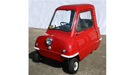 World S Smallest Car by A History Of The World Object The P50 The World
