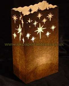 How To Make Paper Bag Lanterns - 1000 ideas about paper bag lanterns on