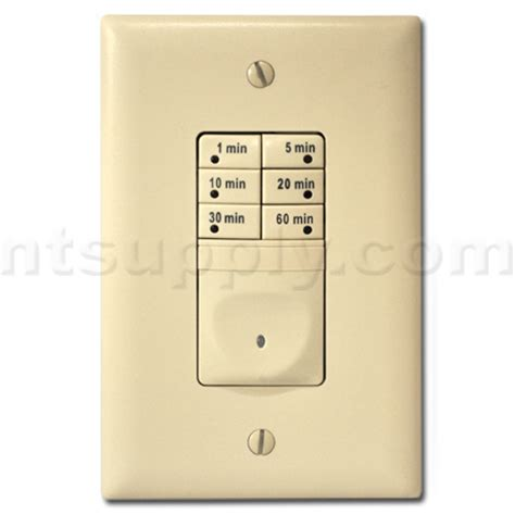 fan timers bathroom buy designer electronic fan timer light almond p s rt1 la