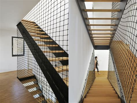 banister netting residential design inspiration modern railings and