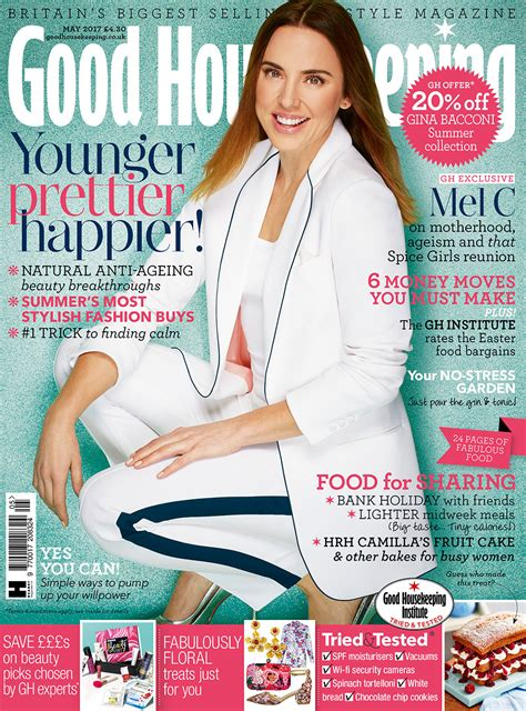 good housekeeping com mel c is good housekeeping s may 2017 cover star good