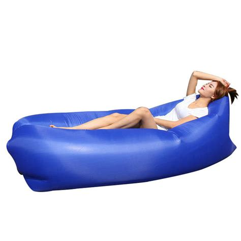 inflatable settee aliexpresscom buy brand yuetor fast inflatable lounger