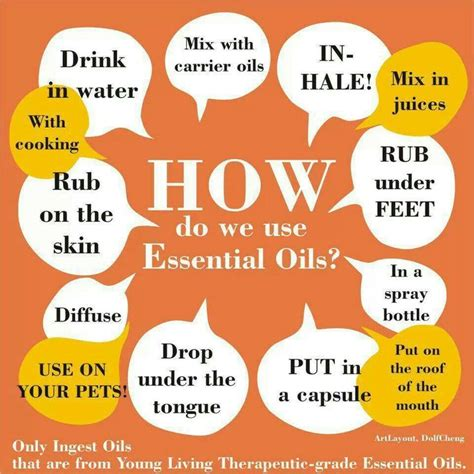 Ways To Use Essential Oils by Ways To Use Essential Oils Living And Loving It