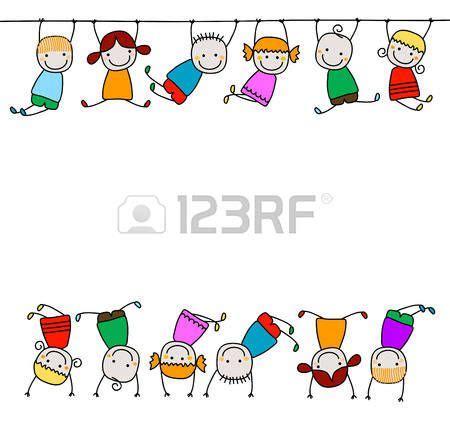 imagenes de niños jugando en la escuela animated felices los ni 241 os jugando vectores mam