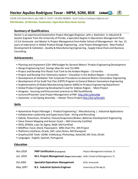 Automotive Resume by Resume Functional Automotive