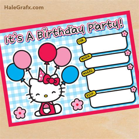 hello invitations templates free printable hello birthday invitation hello