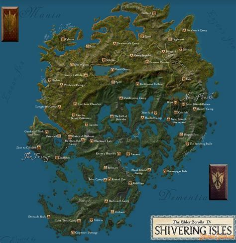 shivering and not the elder scrolls iv shivering isles 187 bethesda plunge into the world