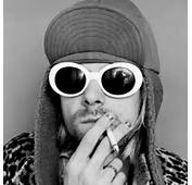 New Fashion Women Oval Sunglasses NIRVANA Kurt Cobain Men