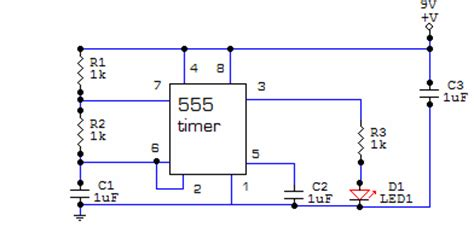 integrated circuits for beginners electronic circuits for beginners led flasher circuit