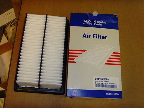 Filter Udara Air Filter Hyundai I20 genuine hyundai air filter i20 1 4 2014 on 28113c8000 ebay