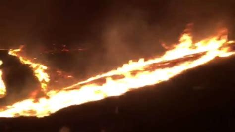 damon wayans unconditional love terrifying footage of family driving passed solimar fire