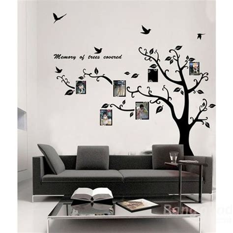 online discount home decor new hot sale discount photo frame tree family picture wall