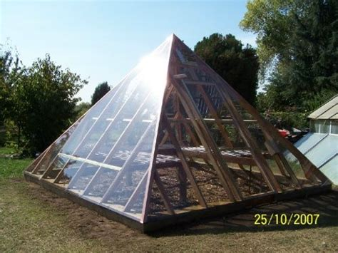 green house plans designs pyramid shaped greenhouse plans golden age of truth