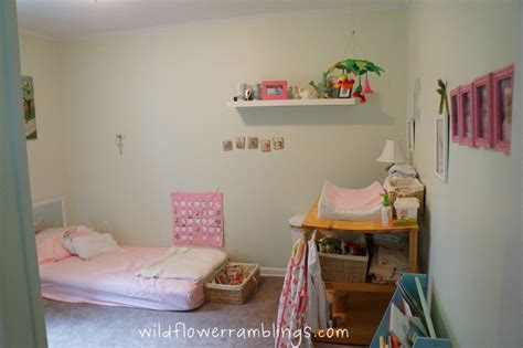 montessori baby bedroom our montessori baby room peter rabbit nursery
