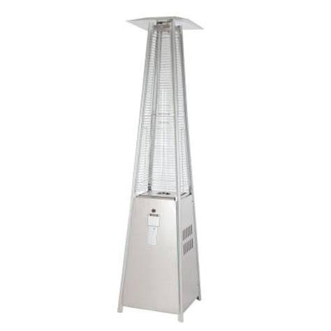 patio heater home depot sense 40 000 btu stainless steel pyramid propane gas