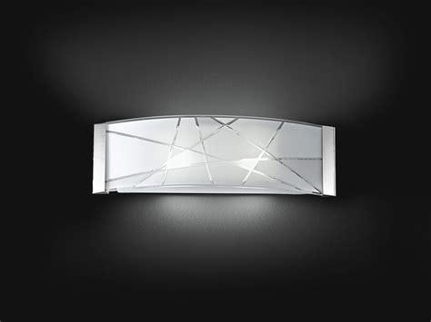 applique da parete appl vetro decorato 2xe27 60w perenz5946
