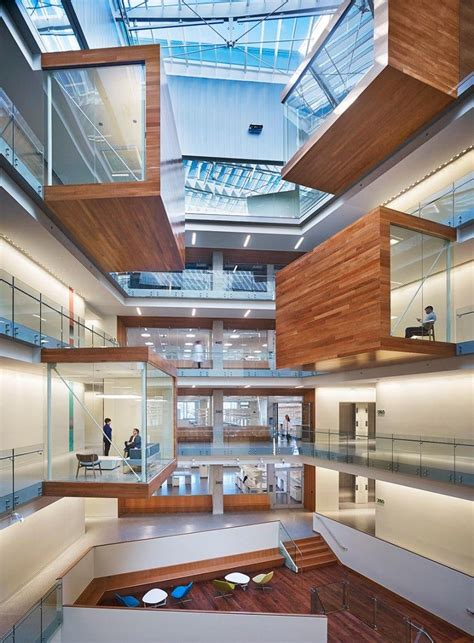 Interior Architects Seattle by Global Architecture Firm Perkins Will Has Completed A State Of The Research Center In