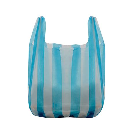 Carrier Bags by Striped Vest Style Carrier Bags Branded Bags Carrier