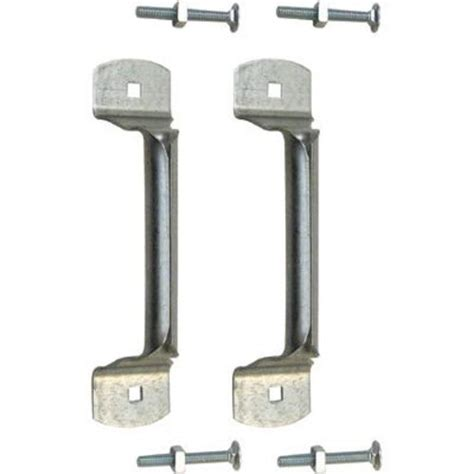 Garage Door Parts Menards by Prime Line 4 1 4 Quot Steel Bottom Lift Handles With Carriage