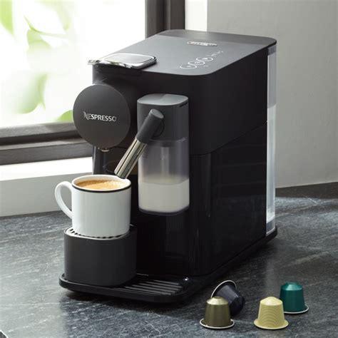 delonghi black lattissima  espresso maker reviews crate  barrel
