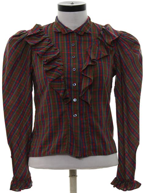 pattern western shirt vintage jt casuals eighties western shirt 80s jt casuals