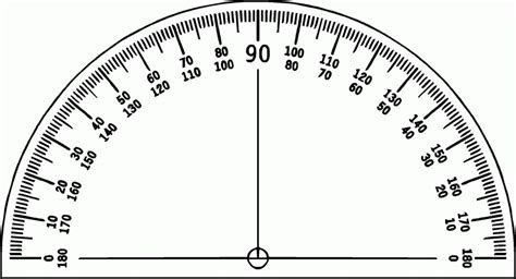 printable protractor with ruler free printable protractor 180 176 360 176 pdf with ruler