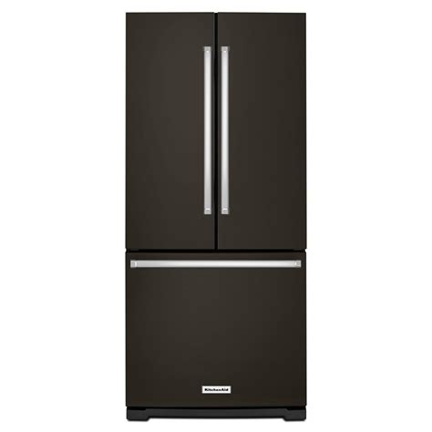 30 in door refrigerator kitchenaid 30 in w 19 7 cu ft door refrigerator
