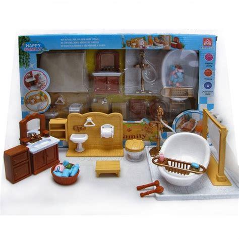 set for bathroom bathroom bathtub full set for sylvanian families furryville calico critters doll