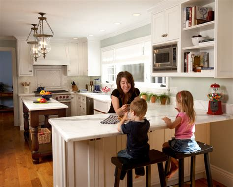 How To Make A Kitchen Peninsula by The Basic Designs Of Peninsula Kitchen Layout