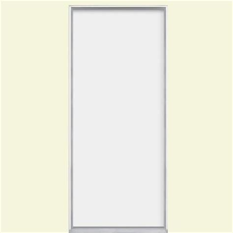 masonite utility flush primed steel prehung front door