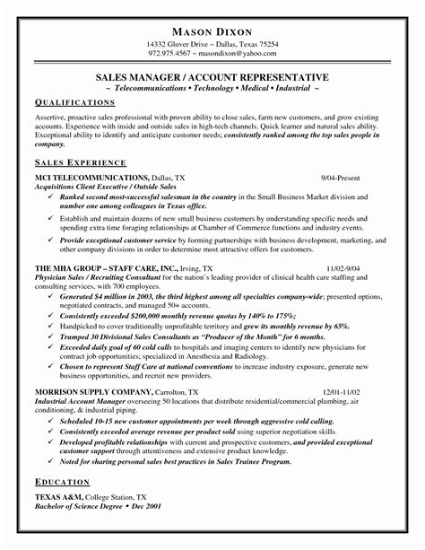 sles of resumes for students sle resume for sales associate new fascinating sales