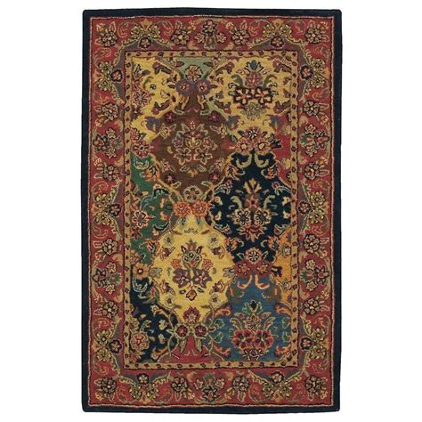 5 x 6 area rug nourison india house multicolor 3 ft 6 in x 5 ft 6 in area rug 124722 the home depot