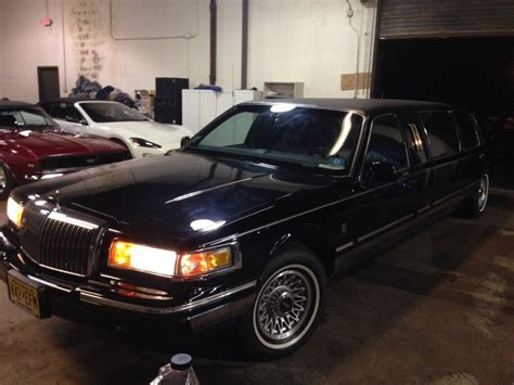 lincoln executive car 1995 lincoln town car limo executive limousine 6 door for sale