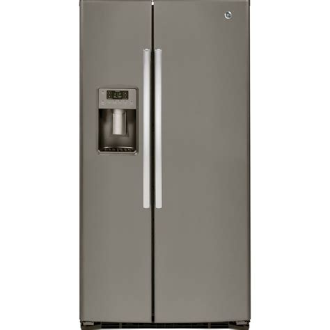 shop ge 25 4 cu ft side by side refrigerator with
