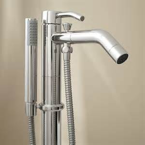Bath Shower Faucet Caol Freestanding Tub Faucet With Hand Shower