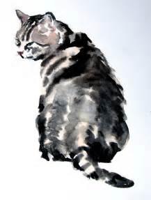 water color cat http www sareenarts images watercolour cat best 2