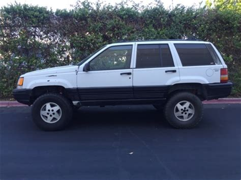Jeep Grand Laredo Used 1995 Jeep Grand Laredo 4x4 At City Cars