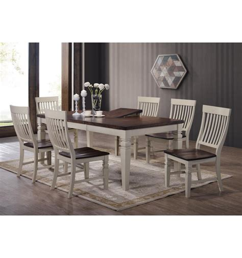 Dining Set 6 Chairs St Petersburg Dining Set W 6 Chairs Simply Woods Furniture Pensacola Fl
