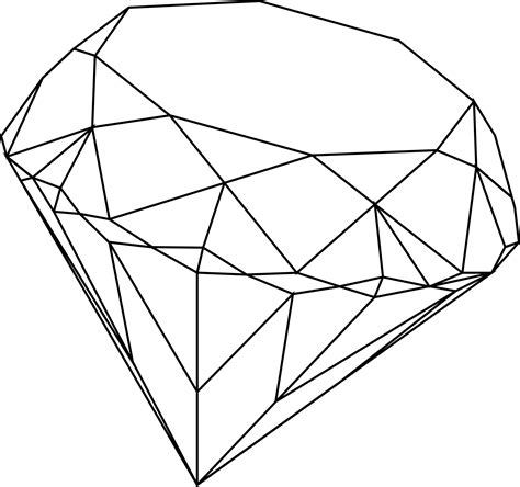 diamond tattoo png diamond drawing clipart clipart suggest