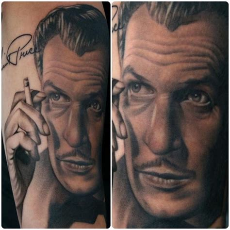 bugaboo tattoos vincent price artist aaron peters at bugaboo