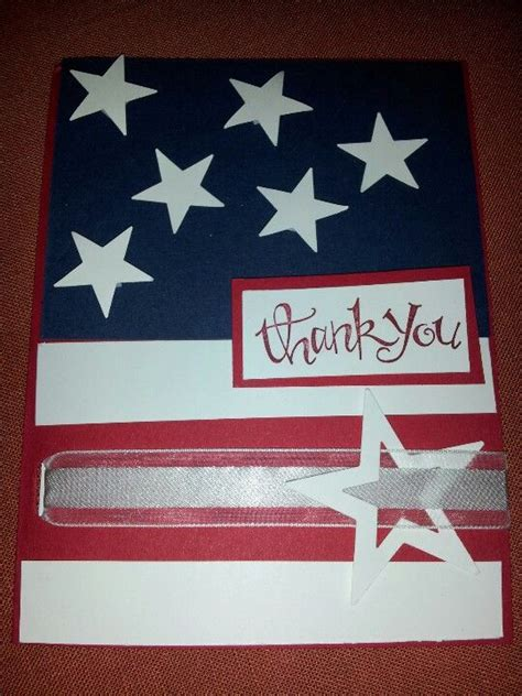 Cards For Veterans - veterans day card papercrafting inspiration