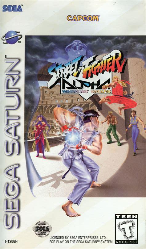 street fighter alpha warriors dreams  sega saturn